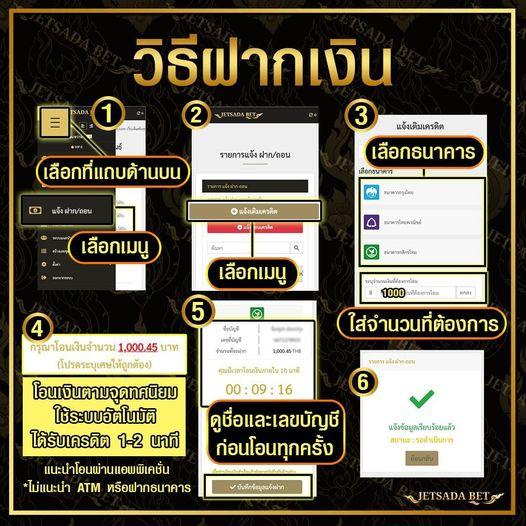 วิธีสมัครเจษฎาเบท jetsadabet เว็บหวยออนไลน์ หวยรัฐบาล หวยยี่กี หวยลาว